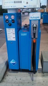 Autogas kann man unter anderem auch bei Aral tanken.