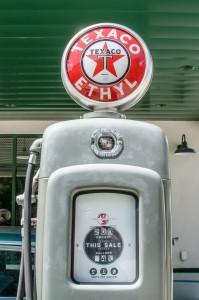 Texaco-Zapfsäule