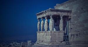 Akropolis in Athen, Bußgelder sind bei Überschreitung der Promillegrenze in Griechenland hoch.