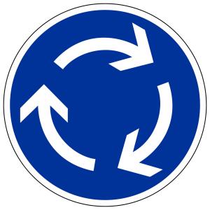 Beim Kreisverkehr in England gibt es einiges zu beachten.