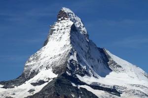 Das Matterhorn, Bußgelder aus der Schweiz können auch in Deutschland geahndet werden.