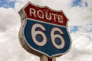 Nicht nur auf der bekannten Route 66 gilt es andere Verkehrsschilder zu beachten als in Deutschland.