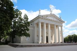 Die Hauptstadt Vilnius hat zahlreiche Sehensürdigkeiten.