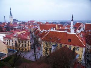 Die Altstadt von Tallinn.