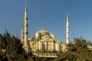 """Die """"blaue Moschee"""" die Hagia Sophia"""