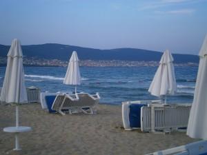 Die langen Strände mit feinem Sand laden zum Erholungsurlaub in Bulgarien ein.