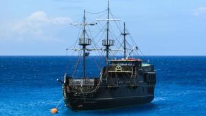 Segelschiff bei Cavo Greko.