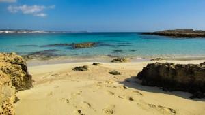 Strand auf Zypern.