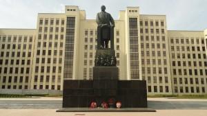 Denkmal in Minsk.