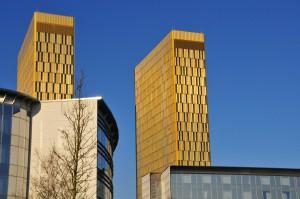 Der EU-Gerichtshof im Stadteil Plateau Kirchberg in Luxemburg.