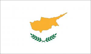 Die Flagge Zyperns.