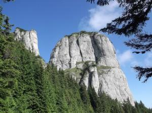 Gebirge in Rumänien.