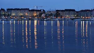 Helsinki am Abend