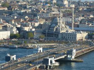 Der Bosporus bei Istanbul.