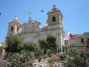 Kirche in Birgu.