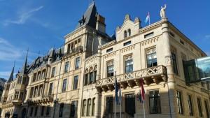 Der Palast von Luxemburg.