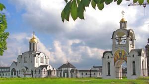 Orthodoxe Kirche in Minsk.