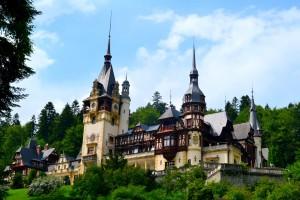 Peles Burg in Rumänien.