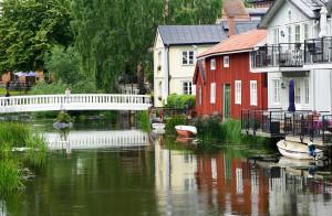 Der Nortalja-Kanal in Schweden.