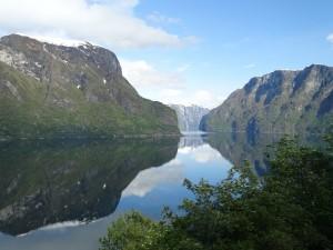 Der Sognefjord in Norwegen.