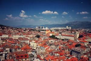Split die zweitgrößte Stadt Kroatiens ist auch sehr beliebt bei den Touristen.