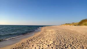 Nicht nur am Strand kann man frische Luft und Sonne tanken in Litauen.