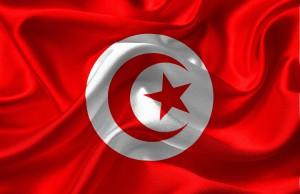 Die türkische Flagge mit dem sichelförmigen Mond.