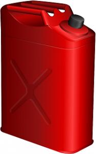 In Deutschland dürfen bis zu 20 Liter im Kanister mit dem Auto transportiert werden.