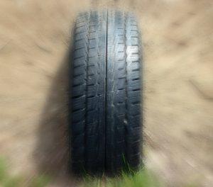 Die Laufrichtung des Reifens sollte beachtet werden.