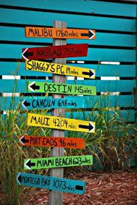 Bei den Reisen ins Ausland gibt es viele beliebte Reiseziele.