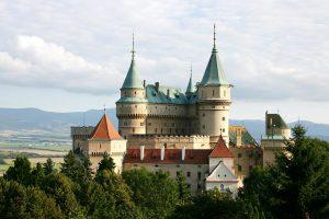 Schloss Bojnice in der Slowakei.