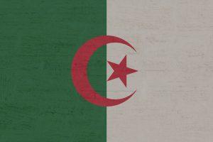Was man beim Tanken in Algerien und der Reise mit dem Auto beachten sollte. Die algerische Landesflagge.