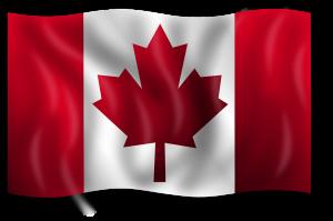 Beim Tanken in Kanada sollte man einige Dinge beachten, hier die Landesflagge von Kanada.