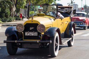 Mit dem Wagen lässt sich Kuba gut erkunden.