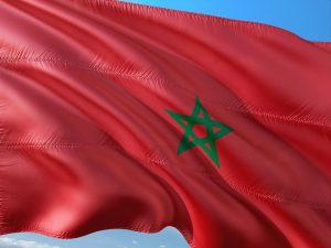 Beim Tanken in Marokko sollte man einige Dinge beachten. Hier die marokkanische Landesflagge.