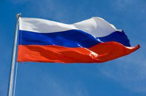 Was man beim Tanken in Russland beachten sollte und welche Verkehrsregeln es gibt erfahren sie auf dieser Seite. Die russiche Nationalflagge in weiß, blau und rot.