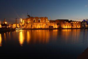 Die Landeshauptstadt Tripolis.