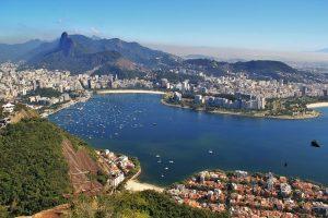 Was man beim Tanken in Brasilien beachten sollte. Hier ein Ausblick vom bekannten Zuckerhut.