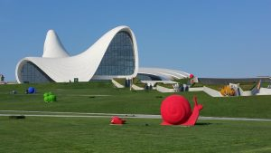 Haliyev Center in Baku.