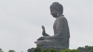 Tian Tan Buddha, Buddhastatue auf Lantau Island.