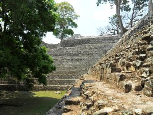 Die Ruinenstadt Copan der Maya in Honduras.