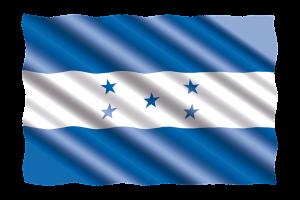 Die Landesflagge von Honduras.