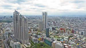 Tokio die Hauptstadt Japans.