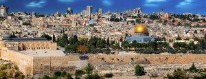 Die Hauptstadt Jerusalem.