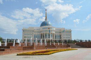 Der Palast des Präsidenten in Astana.
