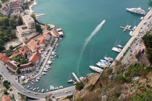Der Hafen von Kotor.