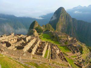 Der Machu Picchu in Peru.