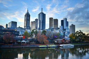Melbourne in Australien.