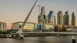 Puerto Madero in Buenos Aires.