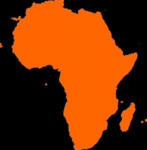 Madagaskar liegt im Südosten vor dem Kontinent Afrika.